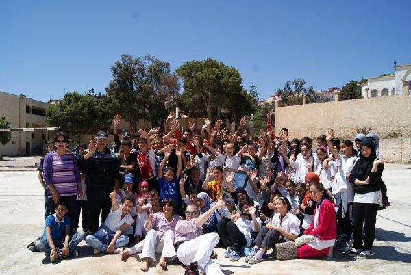 Crònica del taller a Al-Hoceima.