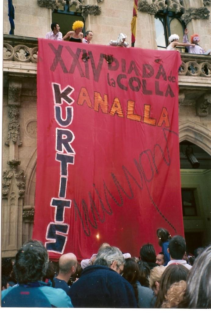 Diada de la Colla, 2002.