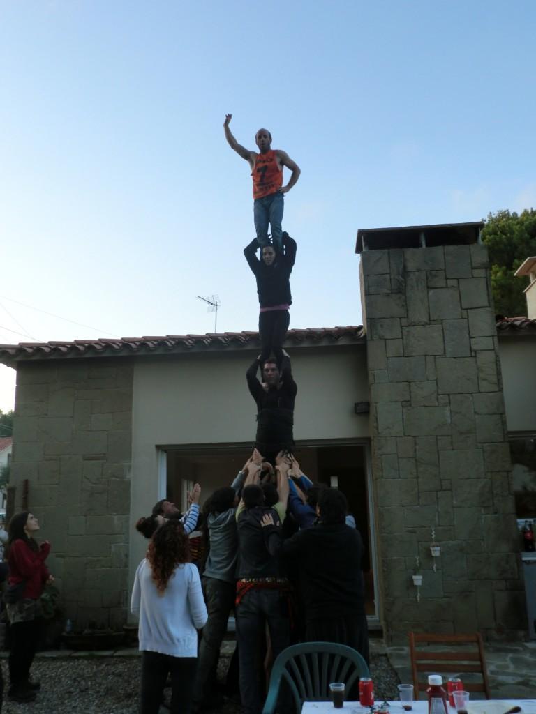 Pilar de 4. Casa Franc. 2011.