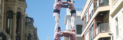 Actuació a l'Arboç (Plaça de la Vila, 21-08-16).