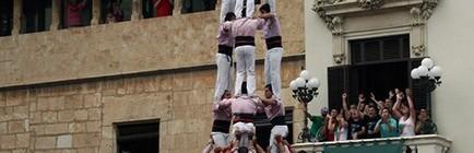 Actuació de Sant Fèlix a Vilafranca del Penedés (Plaça de la Vila, 30-08-16).