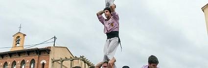 Actuació a la Festa Major de Caldes de Montbui. (Plaça de la font del Lleó, 12/10/16).