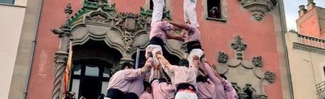 Actuació a la Diada dels Xics de Granollers (Plaça Porxada, 13-11-16).