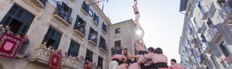 Actuació a Girona per Fires de Sant Narcís (Plaça del Vi, 30-10-16).