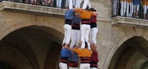 """Diari Casteller: """"Les quatre colles de deu faran un castell de germanor al Gran Concert pels Refugiats""""."""
